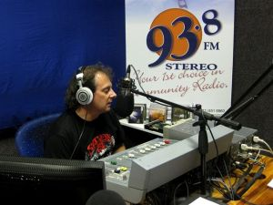 Leon Economides in the Studio