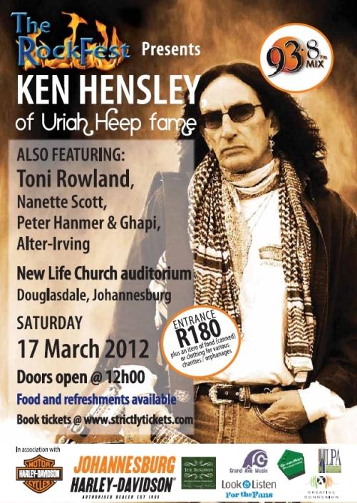 The Rockfest Presents Ken Hensley