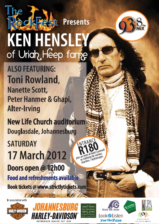 The Rockfest Presents Ken Hensley